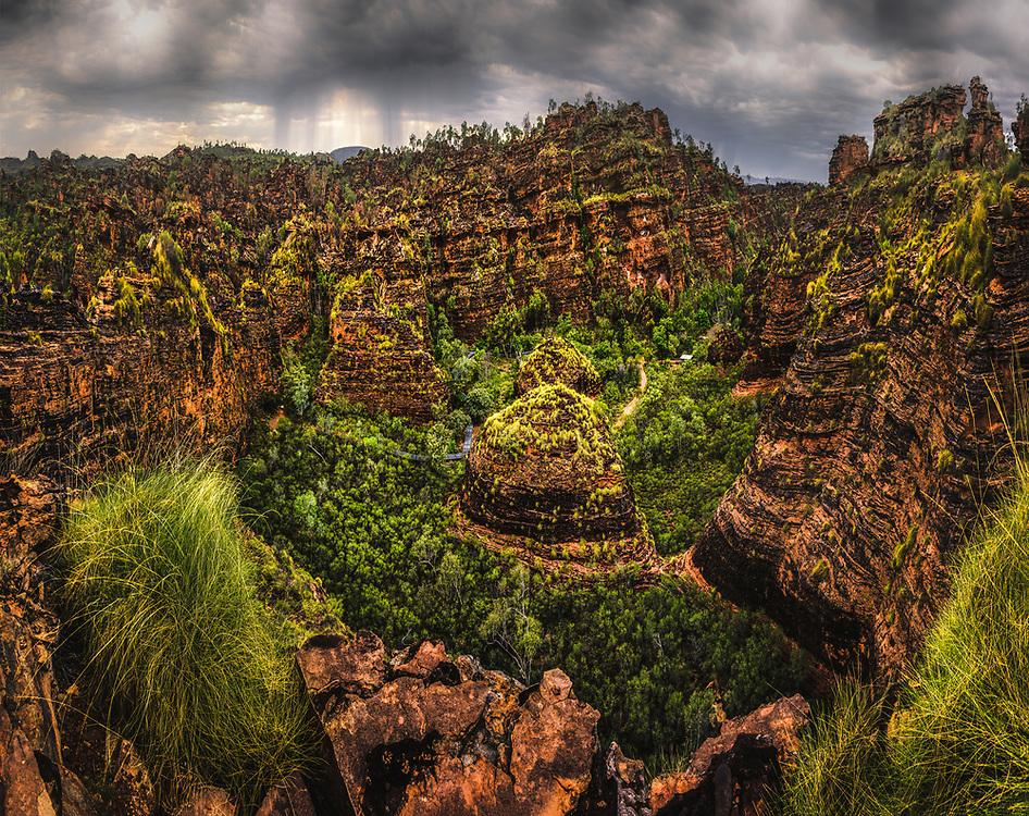 Hidden Valley in Mirima National Park. Western Australia