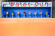 Water gun at an amusement park. Photographed in Yerevan Armenia