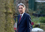 © Licensed to London News Pictures. 05/03/2013. Westminster, UK Defence Secretary Philip Hammond MP walks up Downing Street. Ministers arrive for a Cabinet Meeting at number 10 Downing Street on 5th March 2013. Photo credit : Stephen Simpson/LNP