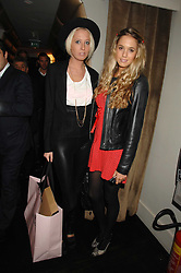 Left to right, The HON.SOPHIA HESKETH and FLORENCE BRUDENELL-BRUCE at a party to celebrate the launch of the Kova & T fashion label and to re-launch the Harvey Nichols Fifth Floor Bar, held at harvey Nichols, Knightsbridge, London on 22nd November 2007.<br /><br />NON EXCLUSIVE - WORLD RIGHTS