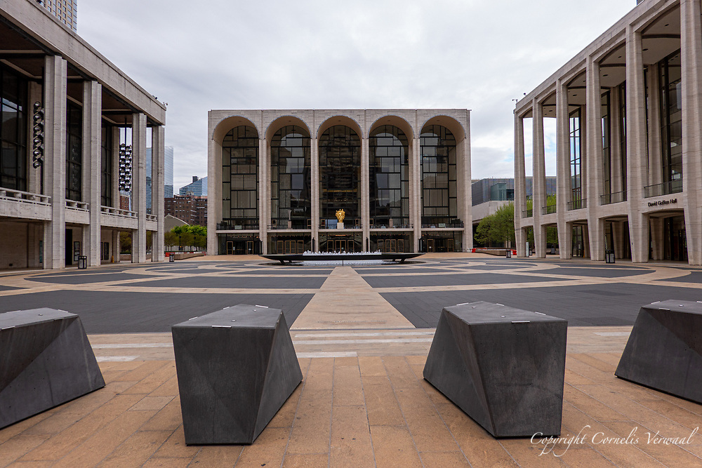 Lincoln Center for the Performing Arts during Covid-19 Intermission