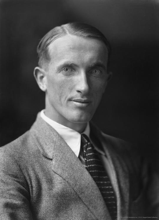 Liam O'Flaherty, Irish Author, 1923