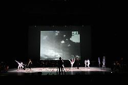 """The scene at """"goodbye"""" event of Slovenian professional sports dance couple Andrej Skufca and Katarina Venturini, named Infinity is Eternity (Neskoncnost je vecnost), on March 2, 2008, in Cankarjev dom, Ljubljana, Slovenia.  (Photo by Vid Ponikvar / Sportal Images)/ Sportida)"""