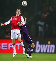 Fotball<br /> Østerrike<br /> Foto: Gepa/Digitalsport<br /> NORWAY ONLY<br /> <br /> 03.11.2011<br /> UEFA Europa League, Gruppenphase, FK Austria Wien vs AZ Alkmaar<br /> <br /> Bild zeigt Rasmus Elm (Alkmaar)