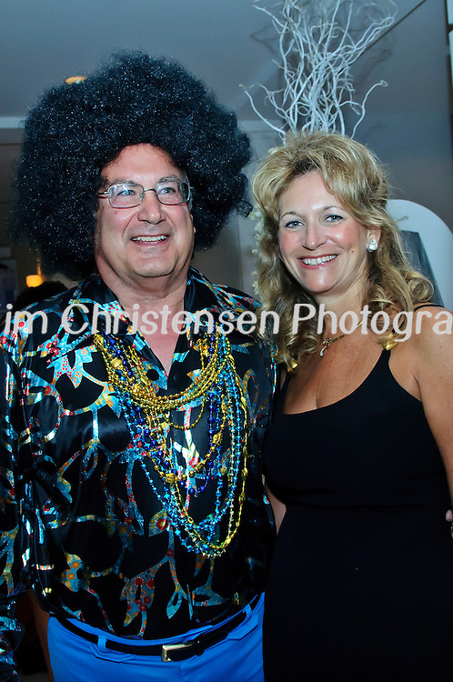"Dana and Teri Ballantyne enjoy The Tremont House Mardi Gras celebrate ""The Golden Era of Motown"" ball."