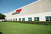 An exterior view of the GameStop center in Grapevine, Texas which houses the retro classics console games refurbishment center on June 24, 2015. (Cooper Neill for Mashable)