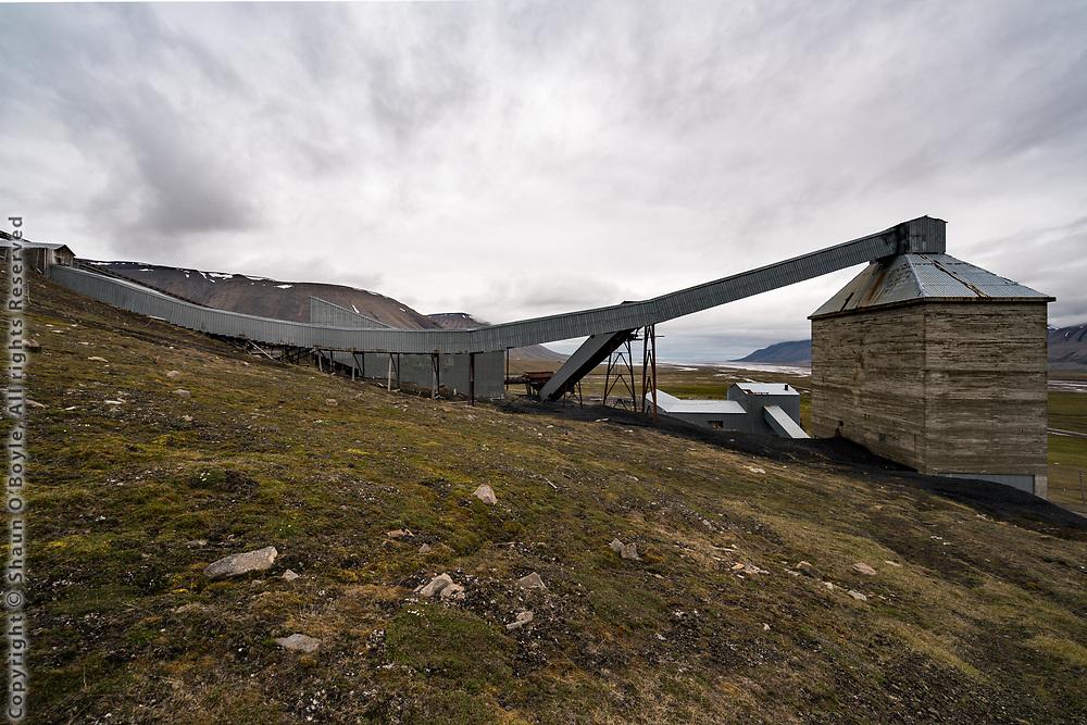 Mine 6, Adventdalen, Spitsbergen