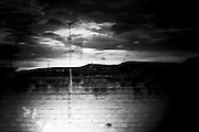 """from the roof af a house.<br /> The shadow line is a trip, a trip losing myself, looking for myself.<br /> Like the romance """"the shadow line"""" by Joseph Conrad (1917).<br /> I was in Italy, England, Bosnia, Montenegro, Serbia..<br /> It isn't a reportage, it isn't a story.<br /> It is a searching.."""