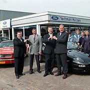 Verkoopteam Ford Veltman Huizen, dealer van de maand en beste verkoopteam