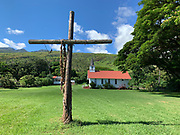 St. Damien's Our Lady of Sorrows Church, 1874, Molokai, Hawaii
