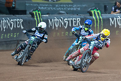 May 12, 2018 - Warsaw, Poland - Tai Woffinden (GBR), Artem Laguta (RUS), Maciej Janowski (POL), during 1st round of Speedway World Championships Grand Prix Poland in Warsaw, Poland, on 12 May 2018. (Credit Image: © Foto Olimpik/NurPhoto via ZUMA Press)