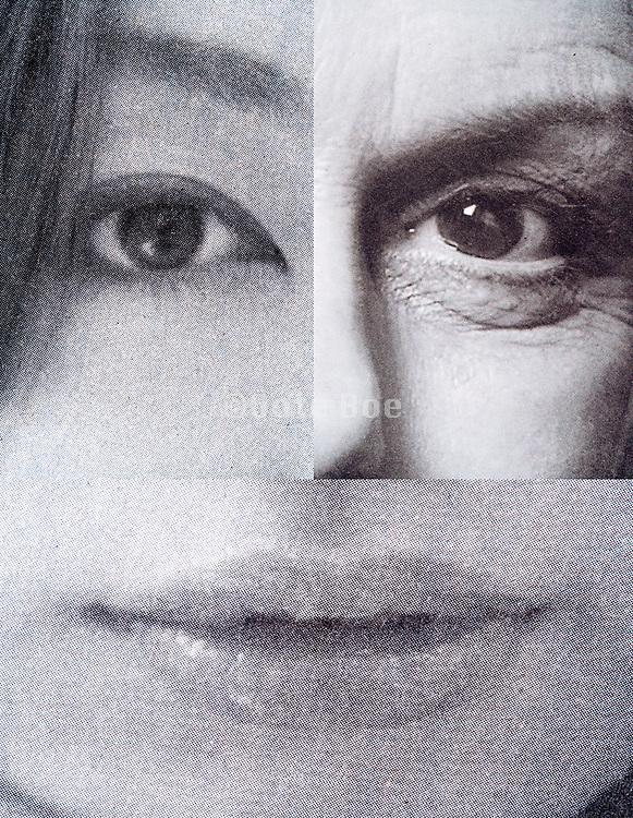 face close up composite