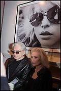 CHRIS STEIN; DEBBIE HARRY, Chris Stein / Negative: Me, Blondie, and The Advent of Chris Stein / Negative: Me, Blondie, and The Advent of Punk - private view, Somerset House, the Strand. London. 5 November 2014.