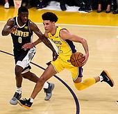 Basketball: 20171002 Lakers vs Nuggets