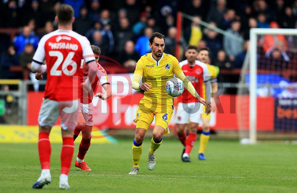 Edward Upson of Bristol Rovers - Mandatory by-line: Matt McNulty/JMP - 27/04/2019 - FOOTBALL - Highbury Stadium - Fleetwood, England - Fleetwood Town v Bristol Rovers - Sky Bet League One