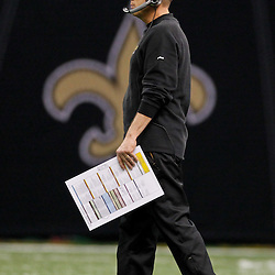 January 7, 2012; New Orleans, LA, USA; New Orleans Saints head coach Sean Payton against the Detroit Lions during the 2011 NFC wild card playoff game at the Mercedes-Benz Superdome. Mandatory Credit: Derick E. Hingle-US PRESSWIRE