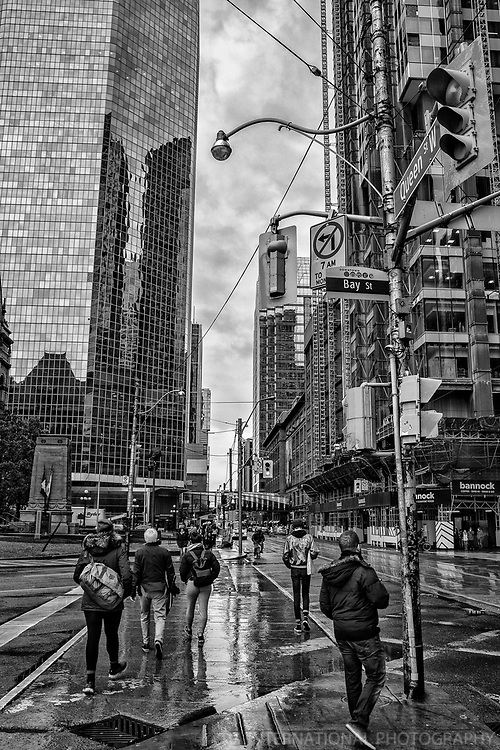 Bay & Queen Streets, Downtown Toronto