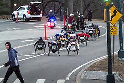 wheelchair athletes start