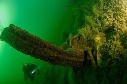 Waikaremoana whaling boat wreck  from1869