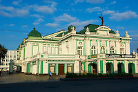 Russie, Siberie, Omsk, le theatre // Russia, Siberia, Omsk, Drama Theater