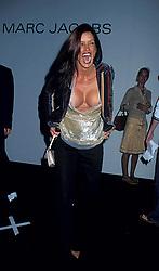 Jan. 1, 2011 - New York, New York, U.S. - K26271HMC.MARC JACOBS SPRING 2003 FASHION SHOW, NYC..JANICE DICKINSON.   /    2002.09/18/2002.JANICEDICKINSONRETRO(Credit Image: © Henry McGee/ZUMAPRESS.com)