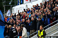 Fotball , 23. September 2012, Tippeligaen Eliteserien<br /> Stabæk IF - Fredrikstad FK<br /> Stabæk Support roper mot Plankehaugen<br /> Foto: Sjur Stølen , Digitalsport