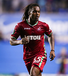 Swansea City's Renato Snaches during the Carabao Cup, third round match at the Madejski Stadium, Reading.