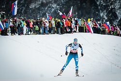 Andrea Julin (FIN) during Ladies 1.2 km Free Sprint Qualification race at FIS Cross<br /> Country World Cup Planica 2016, on January 16, 2016 at Planica,Slovenia. Photo by Ziga Zupan / Sportida