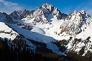 Mount Sneffels and Blaine Basin, San Juan Mountains, Colorado.