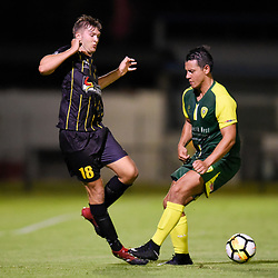 BRISBANE, AUSTRALIA - JANUARY 10:  during the Kappa Silver Boot Group C match between Mitchelton FC and Moreton Bay Jets on January 10, 2018 in Brisbane, Australia. (Photo by Patrick Kearney)