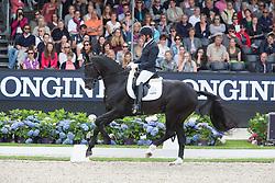 Jurado Lopez Severo, (ESP), Grand Galaxy Win<br /> World Championship Young Dressage Horses <br /> Ermelo 2016<br /> © Hippo Foto - Leanjo De Koster<br /> 30/07/16