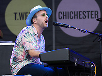 Hugo  Valentine at the Pub in the Park Warwick photo by Michael Butterworth