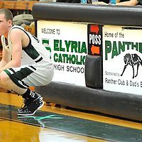 1.15.2013 Oberlin at Elyria Catholic Boys Varsity Basketball