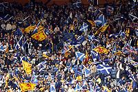 Fotball, 9. september 2004, VM kvalifisering, Glasgow, Skottland -Norge 0-1, illustrasjon, fan, fans, supporter, supportere,  skotske supportere