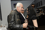 NICK DAVIES; WINNER OF THE MAVERICK AWARD; MOLLY CRABAPPLE, The 2011 Groucho Club Maverick Award. The Groucho Club. Soho, London. 14 November 2011. <br /> <br />  , -DO NOT ARCHIVE-© Copyright Photograph by Dafydd Jones. 248 Clapham Rd. London SW9 0PZ. Tel 0207 820 0771. www.dafjones.com.