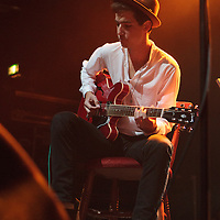 Patrick K Amos performing live with Olivier St Louis at Koko, Camden, 2013-10-01