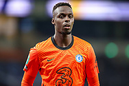 Chelsea goalkeeper Edouard Mendy (16) during the EFL Cup Fourth Round match between Tottenham Hotspur and Chelsea at Tottenham Hotspur Stadium, London, United Kingdom on 29 September 2020.