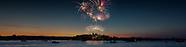 July 4th 2018 Fireworks Alexandria Bay New York USA