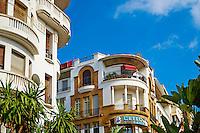 Maroc, Casablanca, Rue Prince Moulay Abdallah // Morocco, Casablanca, Prince Moulay Abdallah street