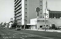 1972 Looking south on Highland Ave. towards Hollywood Blvd.