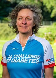 Mieke for the training on the beautiful mountain bike track around Radio Kootwijk, the first serious step was taken during this Corona crisis for La Vuelta Soria & Navarra at the Veluwe on June 01, 2020 in Radio Kootwijk, Netherlands