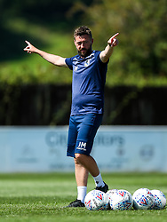 Bristol Rovers assistant manager Jack Measure - Rogan/JMP - 08/08/2020 - FOOTBALL - The Creek - Bristol, England - Bristol Manor Farm v Bristol Rovers - Pre-season Friendly