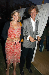 MR MATHEW & LADY ANNE CARR at a party to celebrate the publication of Notting Hell by Rachel Johnson held in the gardens of 1 Rosmead Road, London W11 on 4th September 2006.<br /><br />NON EXCLUSIVE - WORLD RIGHTS