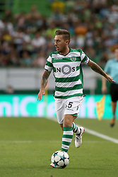 August 15, 2017 - Lisbon, Portugal - Sporting's midfielder Iuri Medeiros from Portugal in action during the UEFA Champions League play-offs first leg football match between Sporting CP and FC Steaua Bucuresti at the Alvalade stadium in Lisbon, Portugal on August 15, 2017. (Credit Image: © Pedro Fiuza/NurPhoto via ZUMA Press)