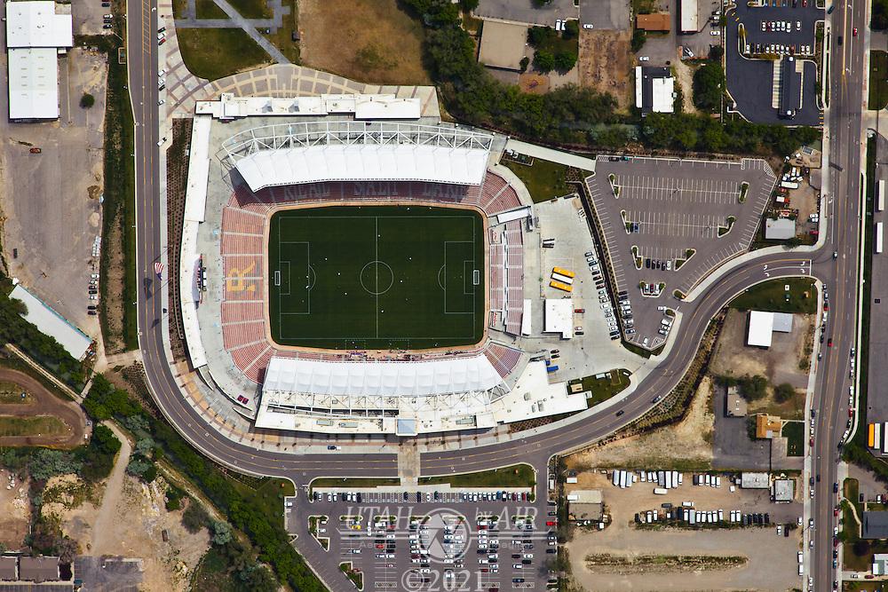 Rio Tinto Stadium, home of  Real Salt Lake Soccer