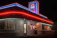 66 Diner, neon sign, Albuquerque, New Mexcio, Route 66,