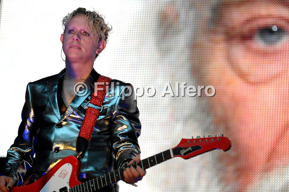© Filippo Alfero<br /> Milano, 18/06/2009<br /> spettacolo<br /> Depeche Mode in concerto<br /> Nella foto: Martin Gore<br /> <br /> © Filippo Alfero<br /> Milan, Italy, 18/06/2009<br /> entertainment<br /> Depeche Mode in concert<br /> In the photo: Martin Gore
