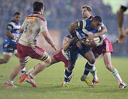 Semesa Rokoduguni of Bath Rugby in action. - Photo mandatory by-line: Alex James/JMP - Mobile: 07966 386802 - 28/11/2014 - SPORT - Rugby - Bath - Recreation Ground - Bath  v Harlequins  - Aviva premiership