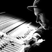 Ghent, Belgium, Nov 14, 2008, Peter Lesage - Moiano, Musician. PHOTO © Christophe VANDER EECKEN