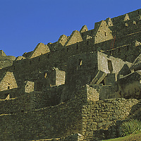 Ancient structures built by mysterious means by Inca masons.